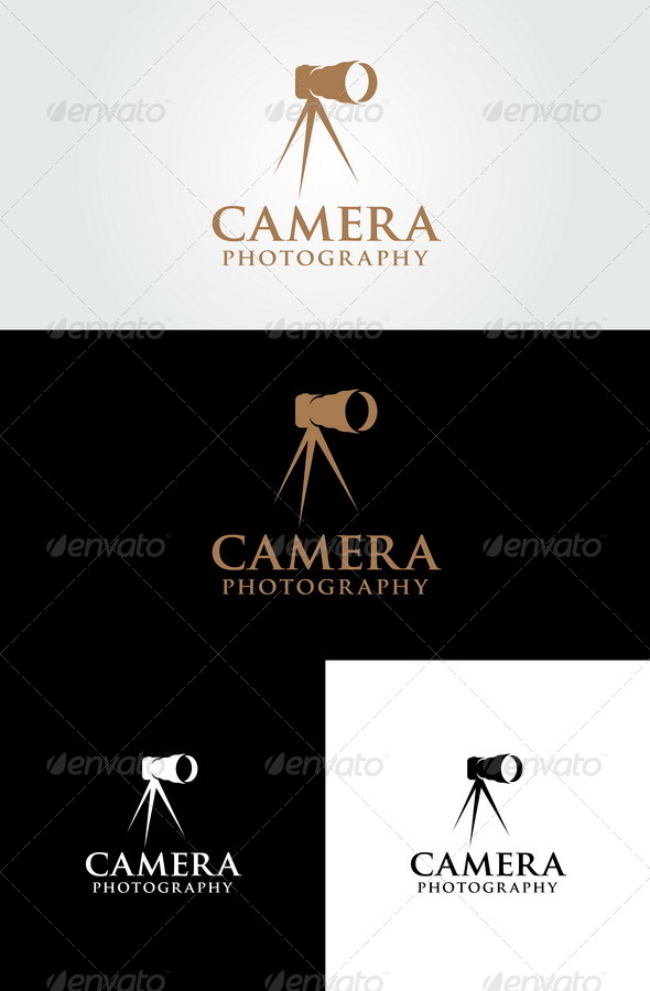 Camera - Photography Logo Template - Objects Logo Templates