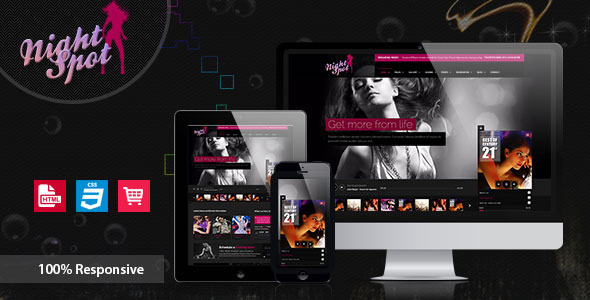 Night-Spot – Night Club Responsive HTML Template