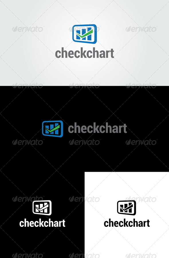 Check Chart - Analysis Logo Template - Symbols Logo Templates