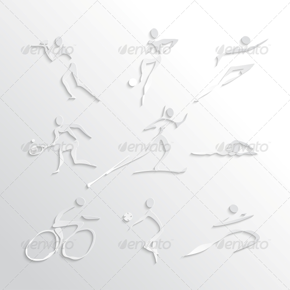 Sports Icons Collection - Sports/Activity Conceptual