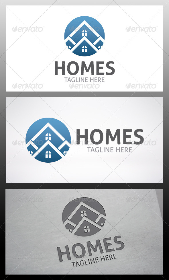 Homes Logo - Buildings Logo Templates