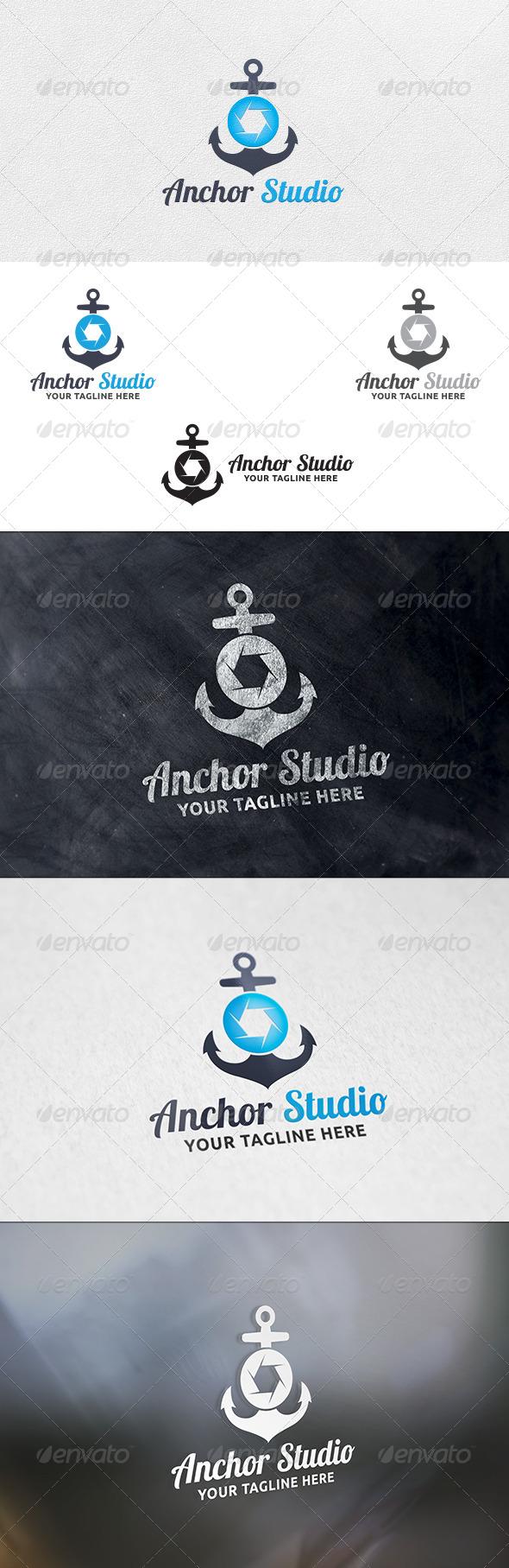 Anchor Studio - Logo Template - Symbols Logo Templates