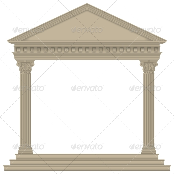 Roman/Greek Temple - Buildings Objects