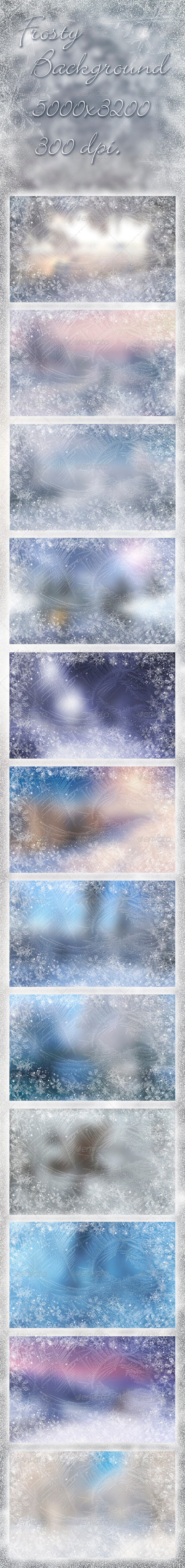 Frosty Background - Abstract Backgrounds