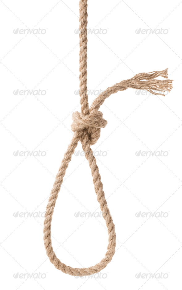 Rope knot - Stock Photo - Images