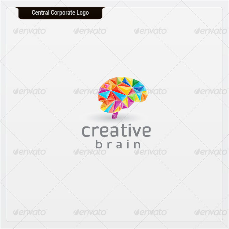 Creative Brain - Logo Template by dynamikmedia | GraphicRiver