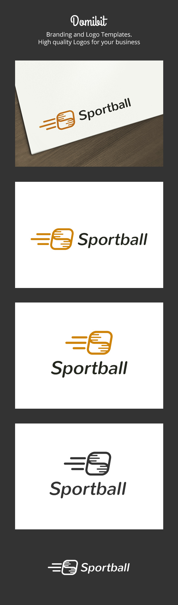 Sport Ball Logo - Objects Logo Templates