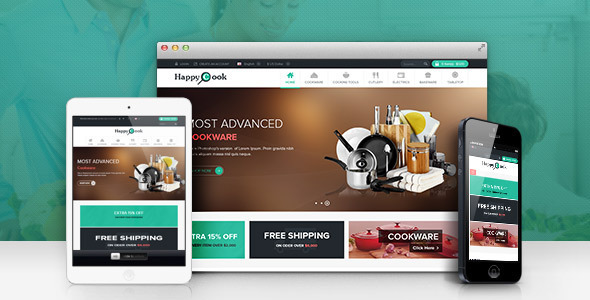 Lexus HappyCook Responsive Opencart Theme - Shopping OpenCart