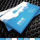 Cloud Business Card Design 1 - GraphicRiver Item for Sale