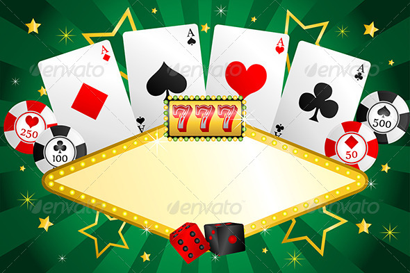 Gambling Background - Backgrounds Decorative