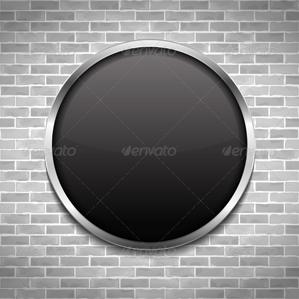 Black Round Frame - Objects Vectors