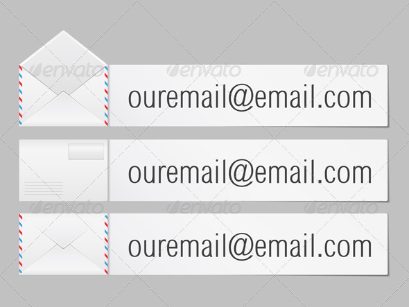 Email - Objects Vectors