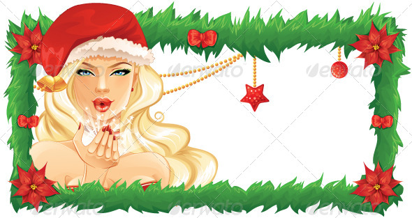 Santa Girl - Christmas Seasons/Holidays