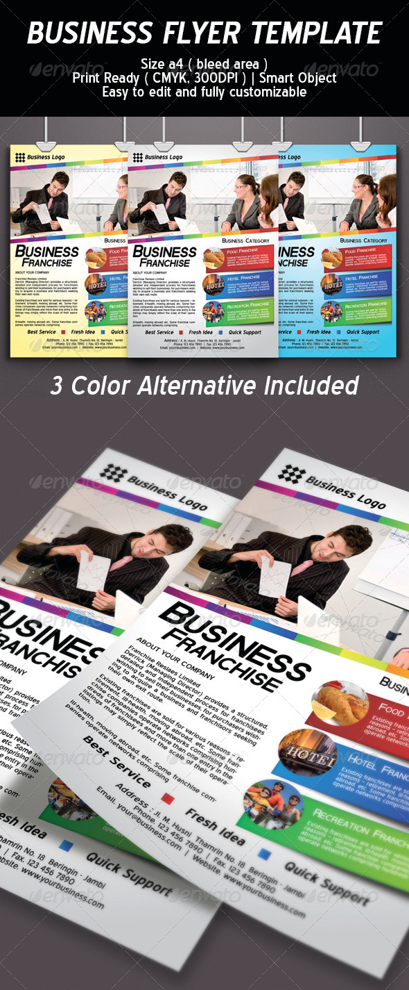 Business Flyer Template Psd - Corporate Flyers