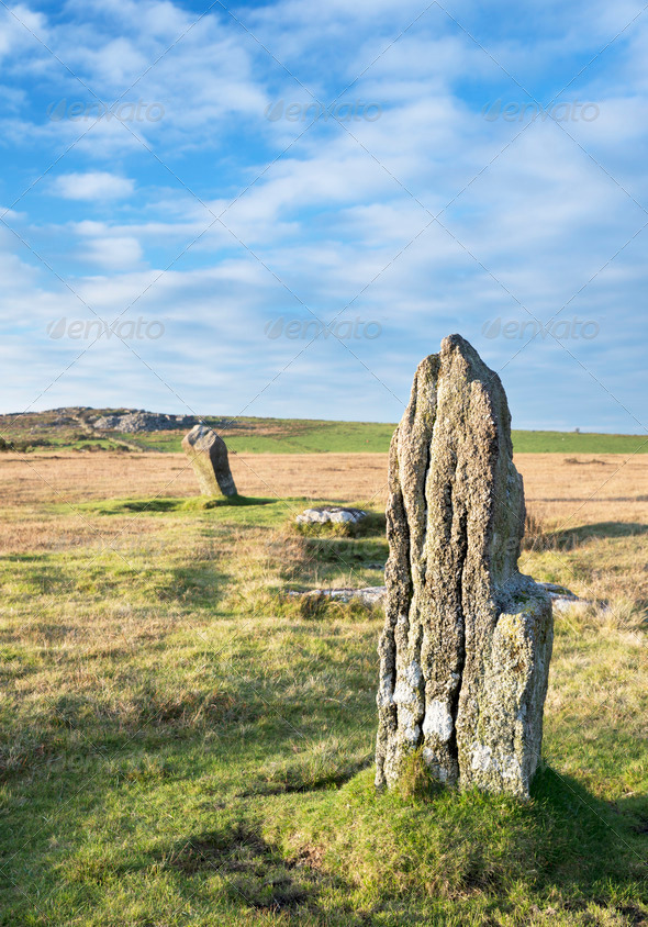 The Trippet Stones - Stock Photo - Images