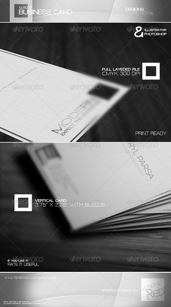 Business Card 008 - Corporate Business Cards