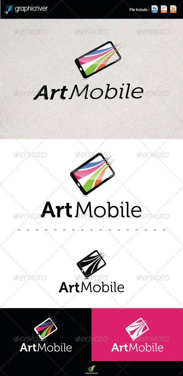 Mobile Logo Template - Symbols Logo Templates