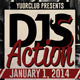 DJ's Action Flyer - GraphicRiver Item for Sale