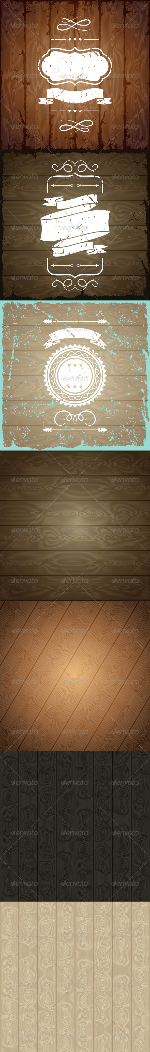 Wooden Texture Backgrounds. - Backgrounds Decorative