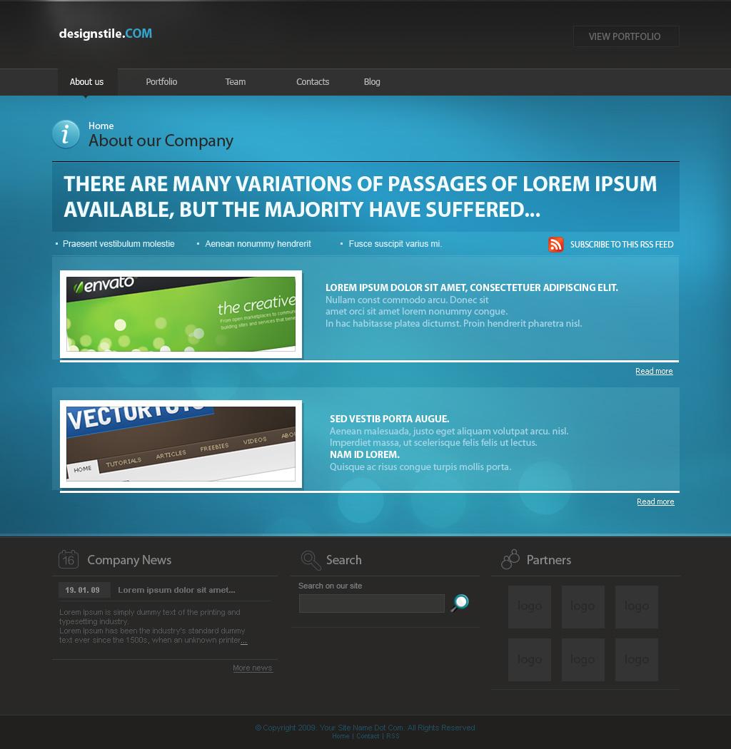 Free Download Designstile template Nulled Latest Version