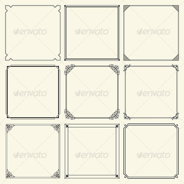 Decorative Frames - Patterns Decorative