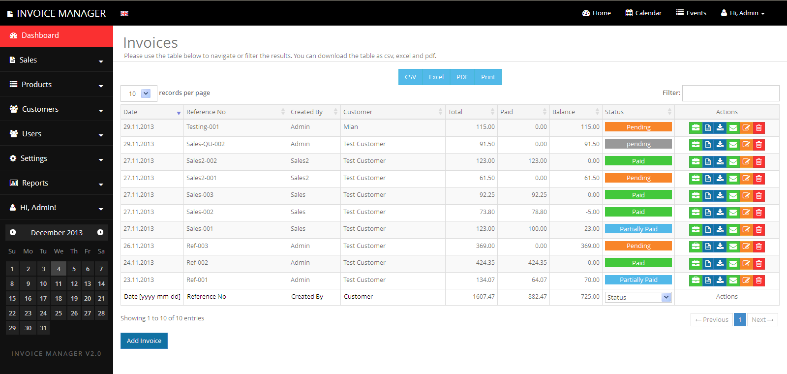 Beautiful Simple Invoice Manager   Invoicing Made Easy  Web Invoice