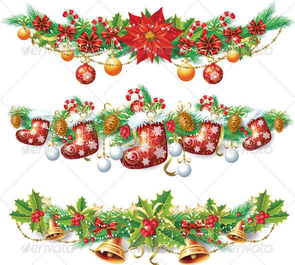 Vintage Christmas Template - Christmas Seasons/Holidays