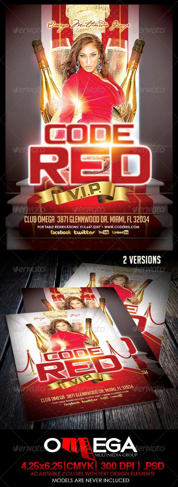 Code Red V.I.P. - Clubs & Parties Events