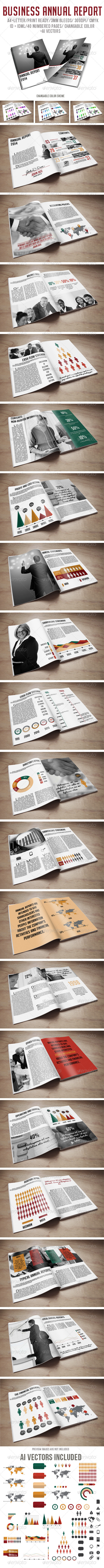 Business Annual Report - Corporate Brochures