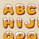 Snow Alphabet Hand Drawn Vector - GraphicRiver Item for Sale