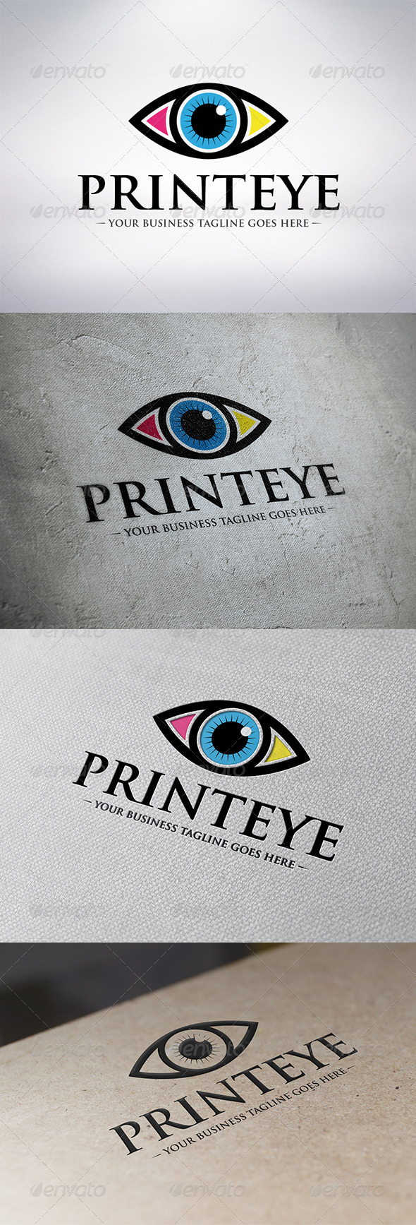 Print Eye Logo Template - Humans Logo Templates