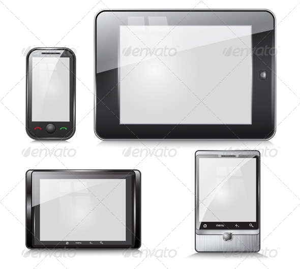 Set of Electronic Devices - Vectors