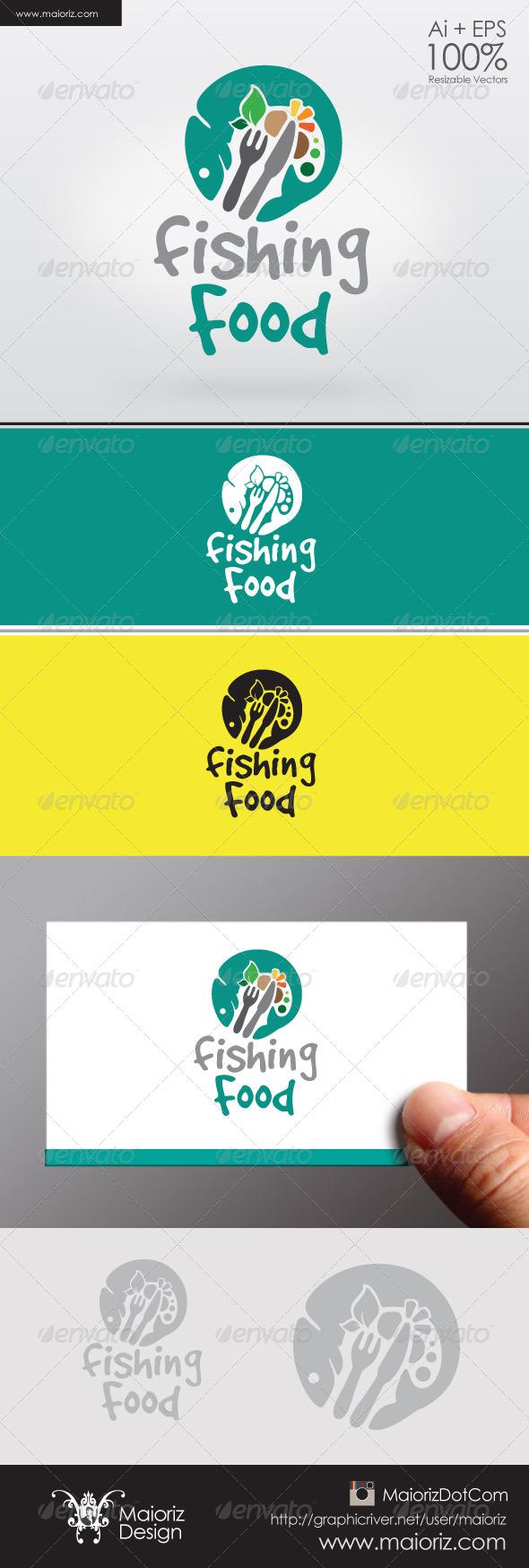 Fishing Food Logo - Food Logo Templates