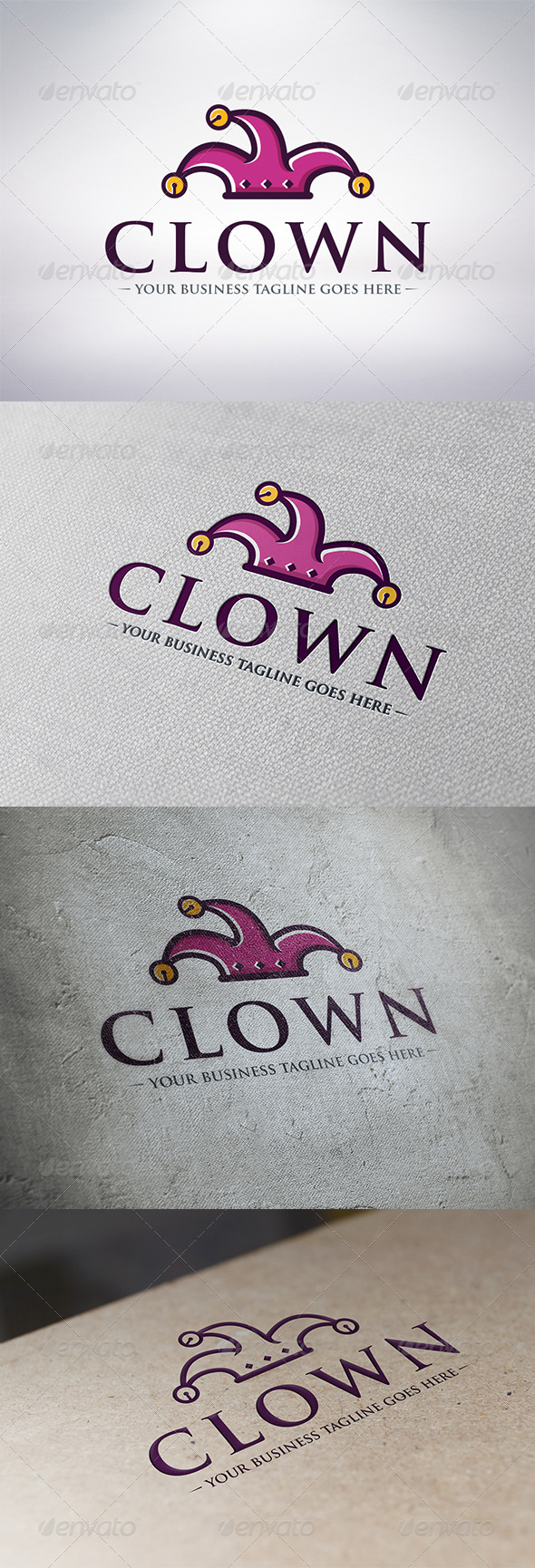 Clown Logo Template - Humans Logo Templates