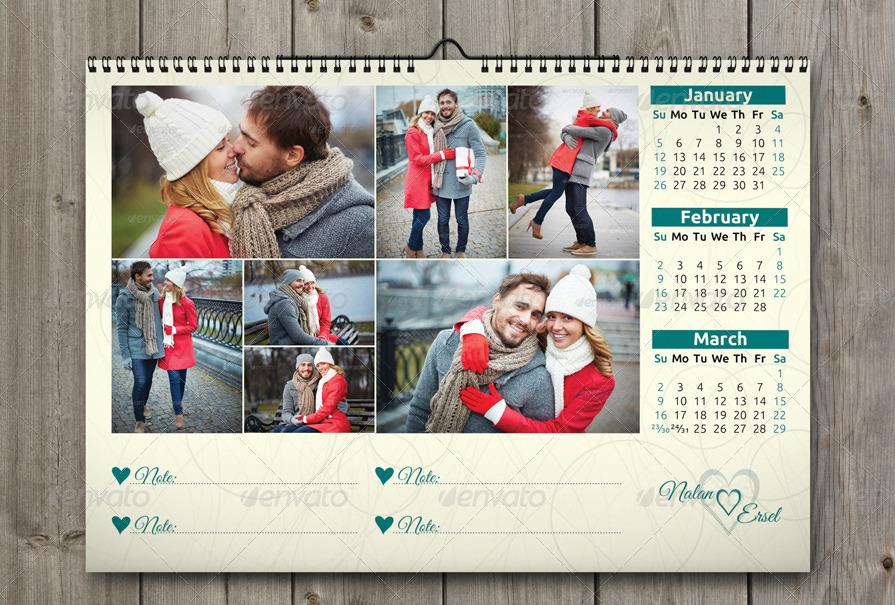 Love Calendar 2014