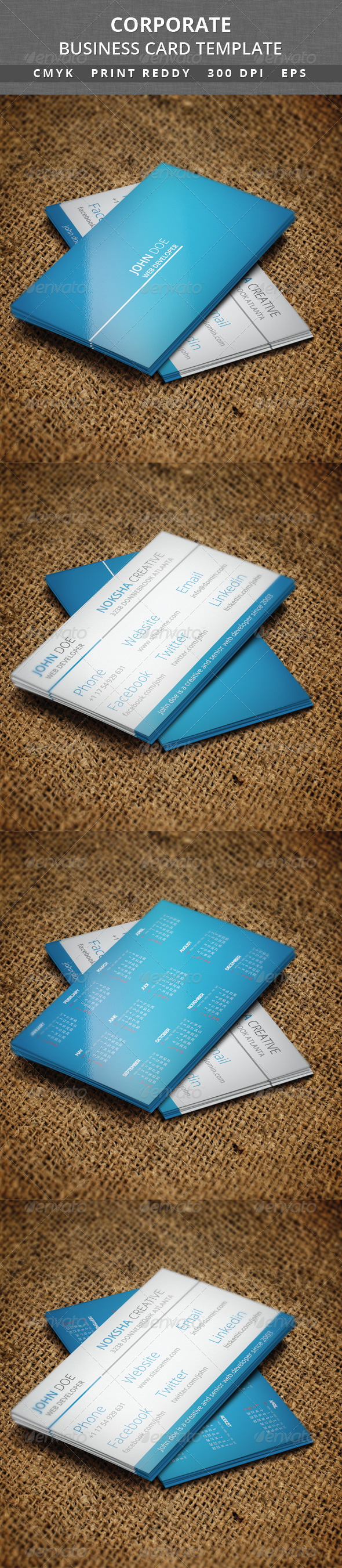 Corporate Business Card V 38 - Corporate Business Cards