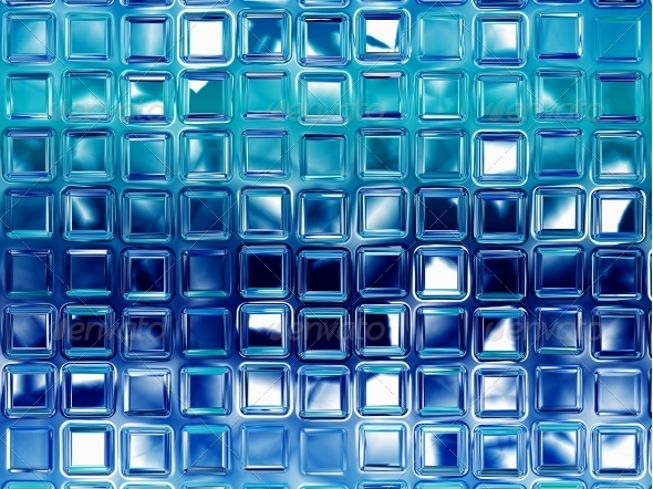 Abstract glass background - Technology 3D Renders