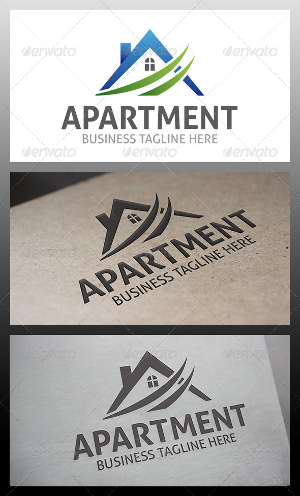 Apartments Logo - Buildings Logo Templates