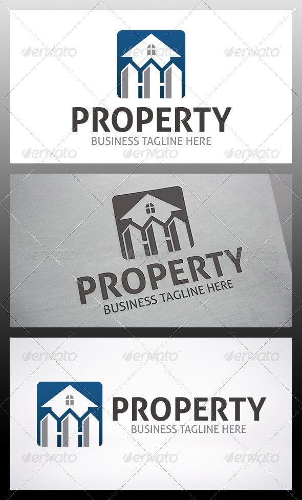 Property App Logo - Buildings Logo Templates