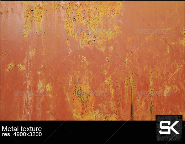 Old Paint On Metal - Metal Textures