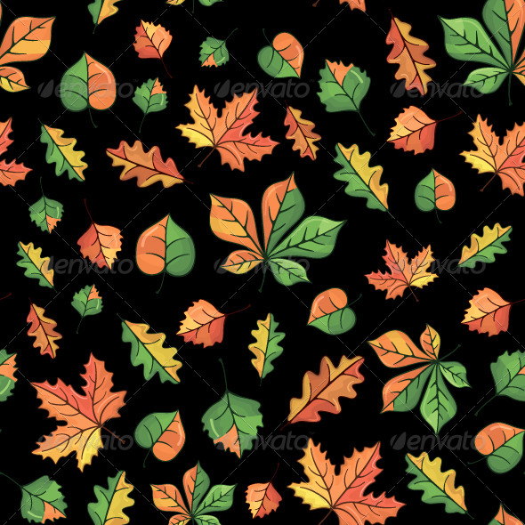 Autumn Pattern - Patterns Decorative