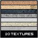 20 Hi-End Textures For Web&app Designers - GraphicRiver Item for Sale