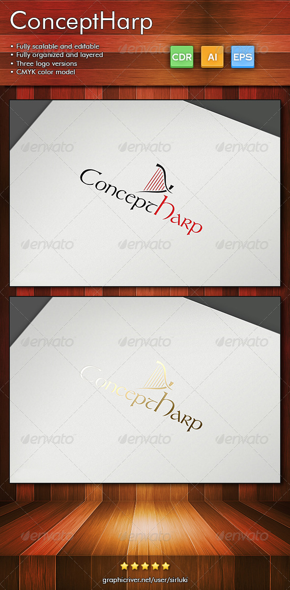 ConceptHarp - Objects Logo Templates