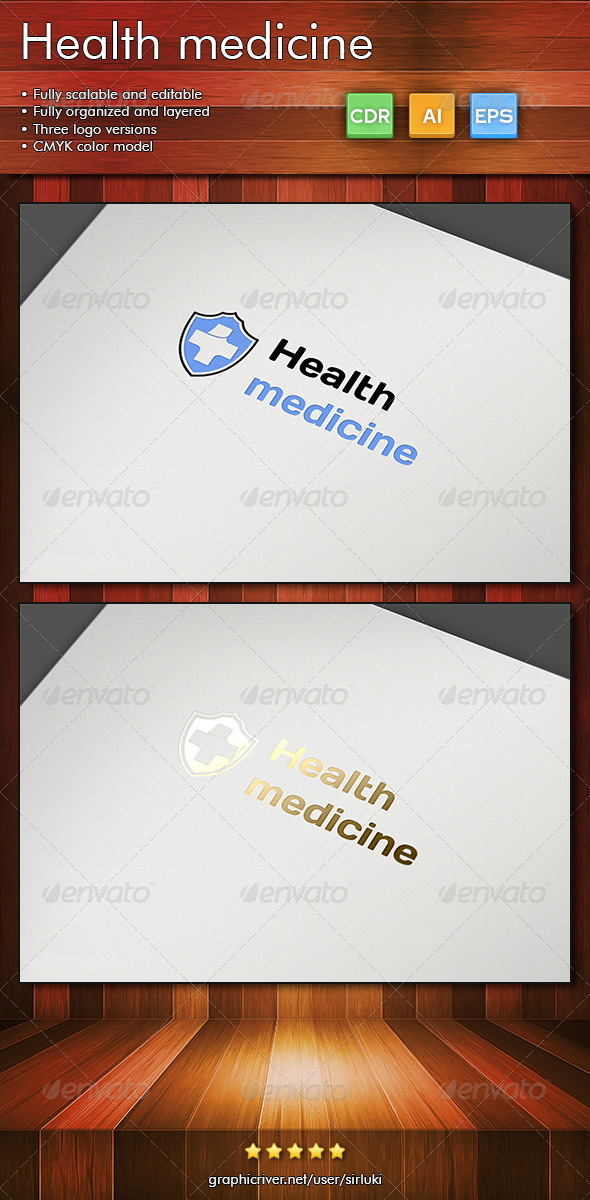 Health medicine - Symbols Logo Templates