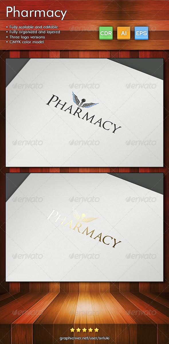 Pharmacy - Objects Logo Templates