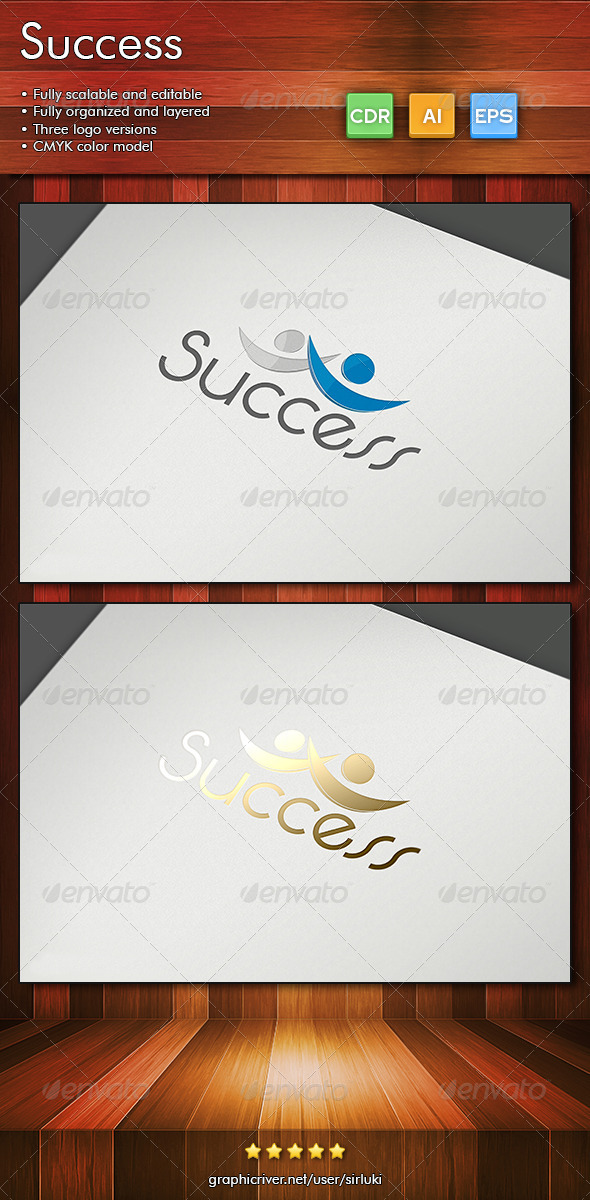 Success - Humans Logo Templates