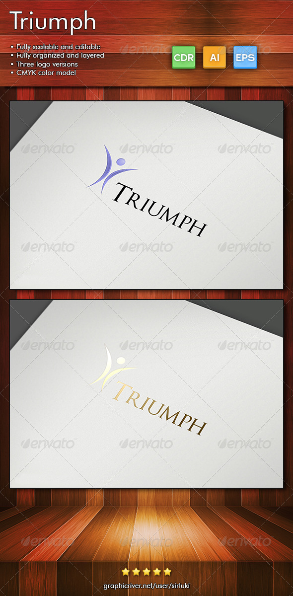 Triumph - Humans Logo Templates
