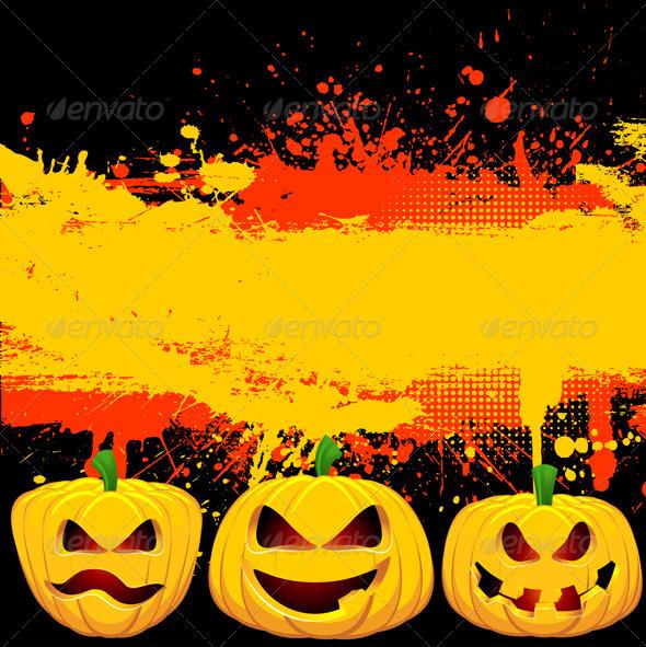 Grunge Halloween Background - Halloween Seasons/Holidays