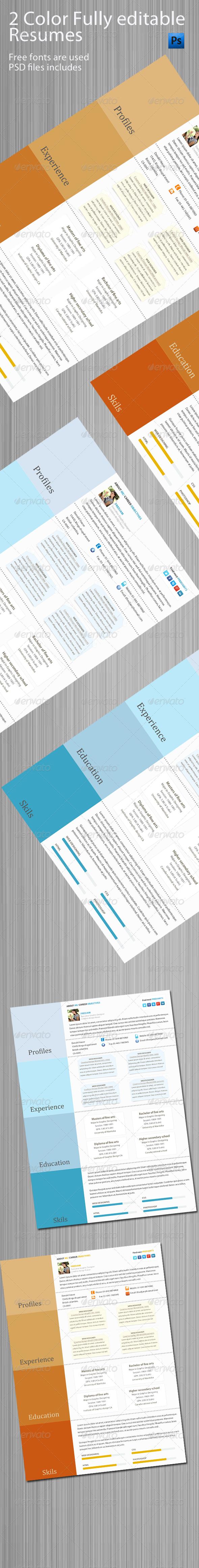 Corporate Resume/CV - Resumes Stationery