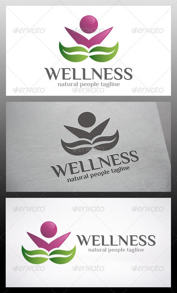 Wellness People Logo - Humans Logo Templates
